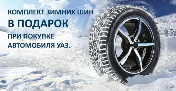 Зимние шины в подарок